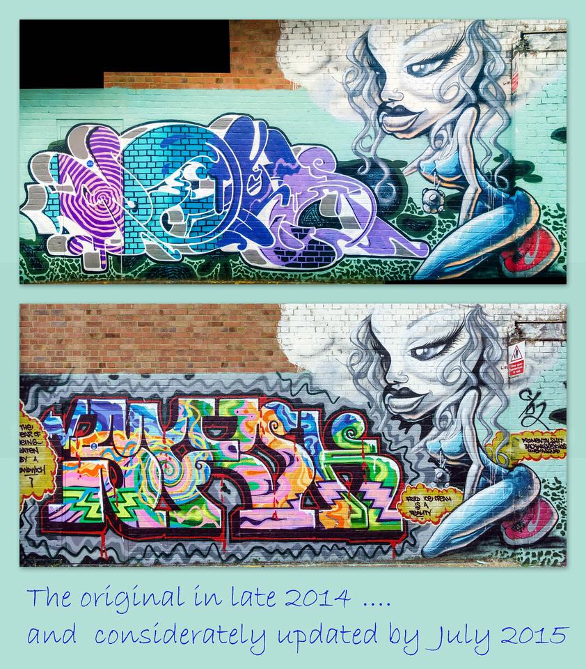 brighton graffiti 2015-