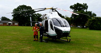 Cowfold 12 july air ambulance rw-20