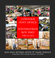 Ros Daly at Cowfold Post Office