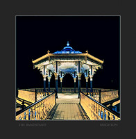 HOVE BANDSTAND AT NIGHT
