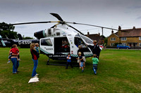 Cowfold 12 july air ambulance rw-19