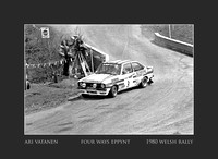 welsh rally 1980# Ari Vatenen