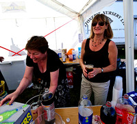 Busy busy bar girls .. anyone for Pimms
