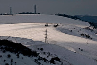 Sussex Downs under Snow